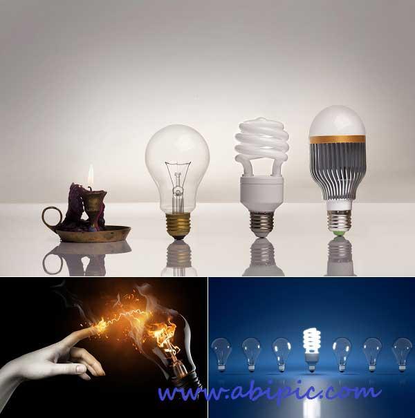 دانلود تصاویر استوک مفهومی از لامپ Lamp stock images