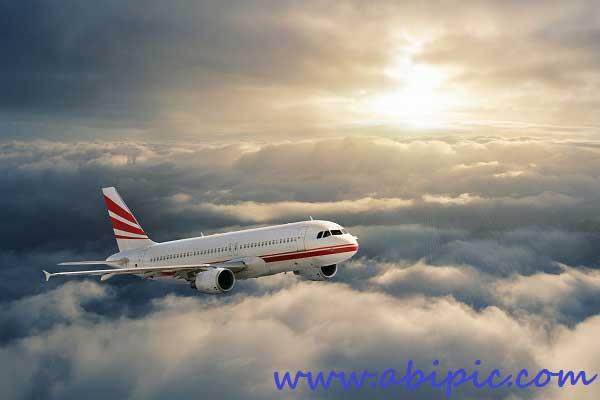 دانلود تصاویر استوک هواپیما و خطوط هوایی Stock Photos - Aeroliner Collection