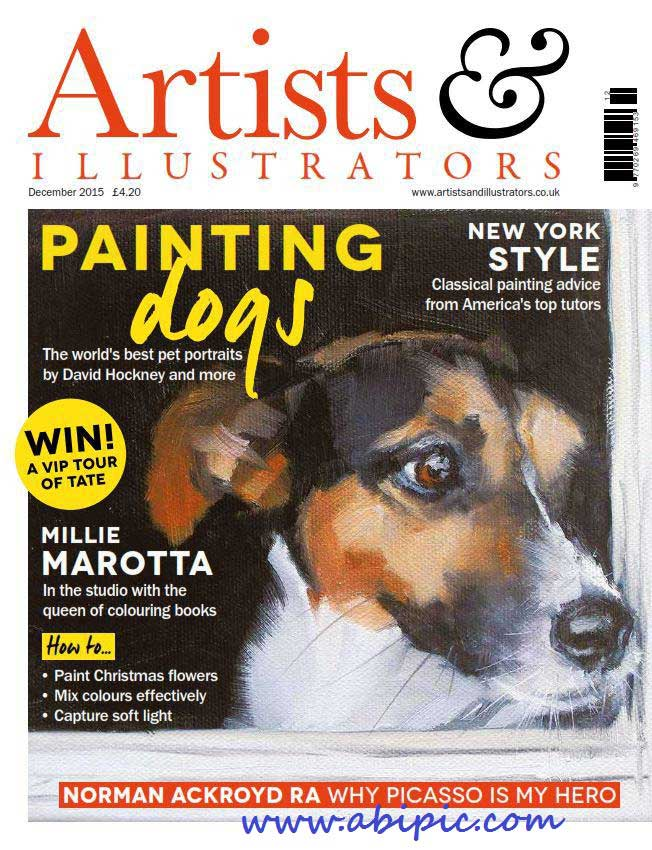 دانلود مجله گرافیک Artists & Illustrators شماره December 2015