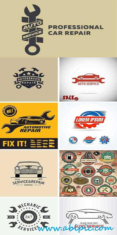 دانلود وکتور لوگوی خدمات و تعمیرات Stock Vector Auto Service Logo