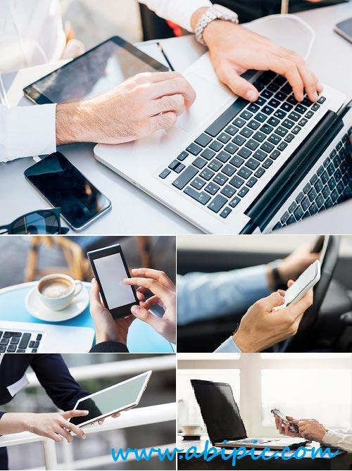 دانلود تصاویر استوک ارتباطات و تکنولوژی مدرن Stock Photos Modern Communications