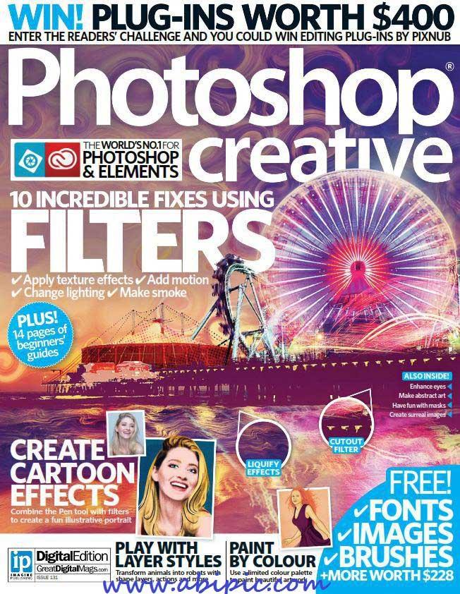 دانلود مجله گرافیکی Photoshop Creative Issue 131, 2015