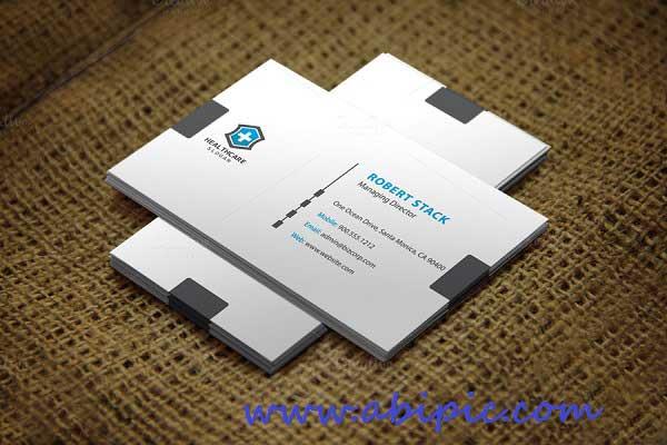 دانلود کارت ویزیت لایه باز شمار 143 Business Card Template