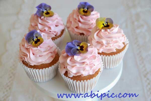 دانلود تصاویر استوک کیک فنجونی شماره 2 Cupcakes