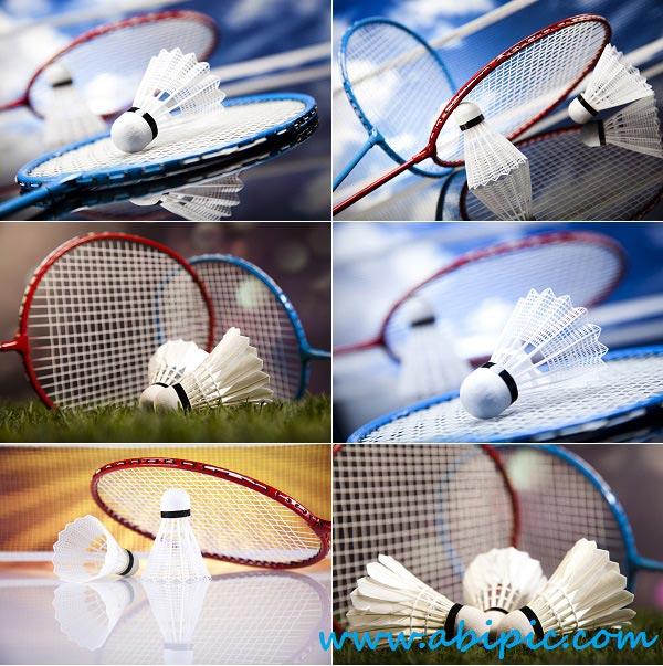 دانلود تصاویر استوک بدمینتون Stock Photo Badminton