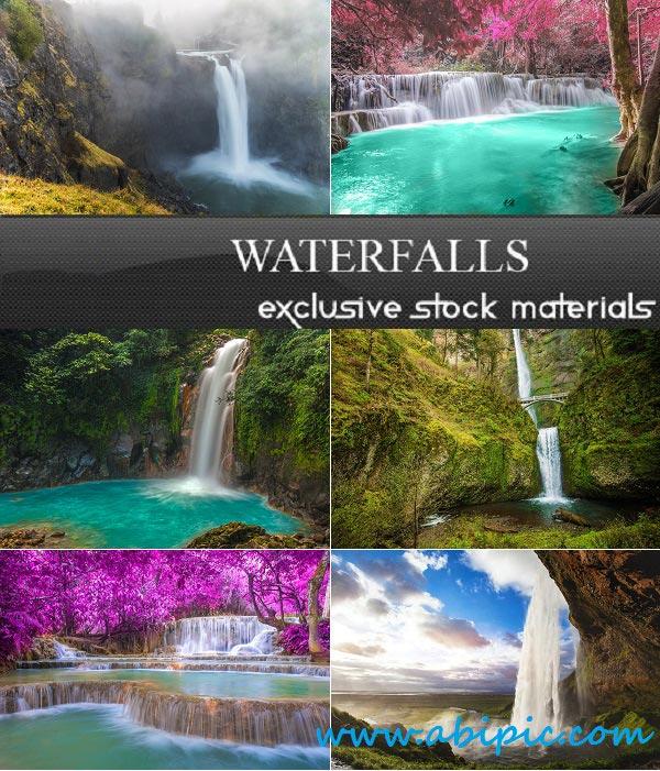 دانلود تصاویر استوک از زیباترین آبشارهای دنیا Stock Photo Waterfalls