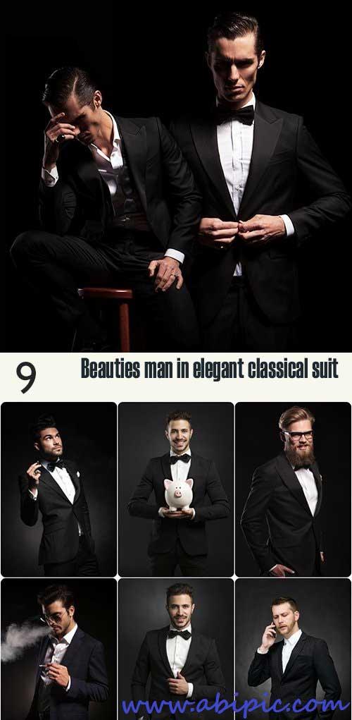 دانلود تصاویر استوک مردان خوش تیپ شماره 5 Beauties man in elegant classical suit