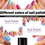 دانلود تصاویر استوک لاک ناخن شماره 4 Different colors of nail polish