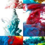دانلود تصاویر استوک پس زمینه پودر و پخش رنگ شماره 2 Abstract paint splash