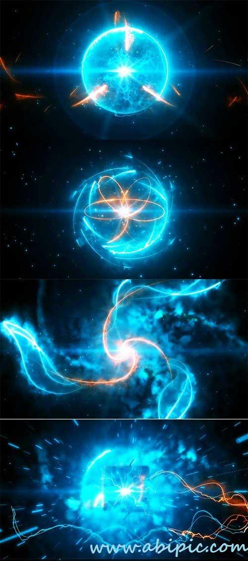 دانلود افترافکت نمایش لوگو به شکل انرژی Energy Logo Reveal