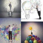 دانلود تصاویر استوک با موضوع ایده و فکر خلاقانه New creative idea