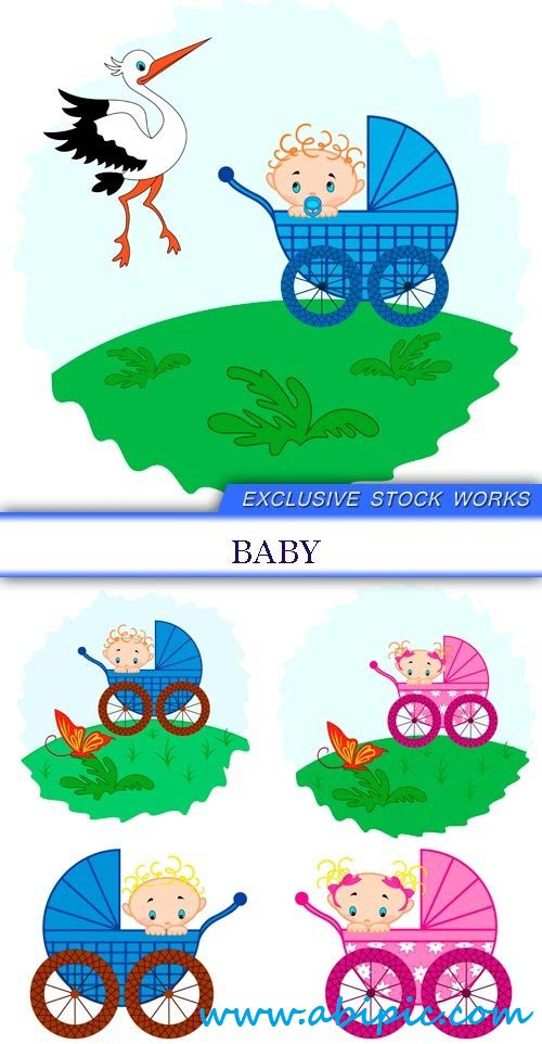 دانلود تصاویر استوک خلاقانه نوزاد Exclusive Stock photo Baby