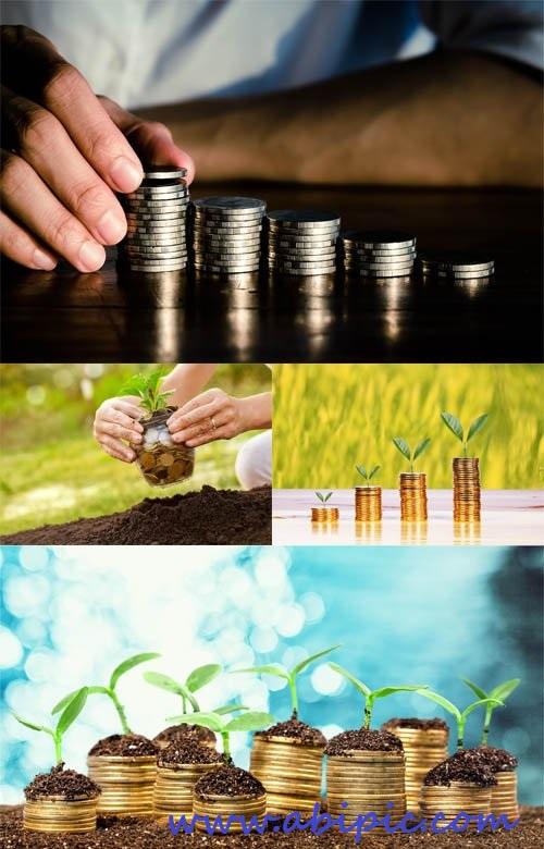 دانلود تصاویر استوک پول و سرمایه گذاری