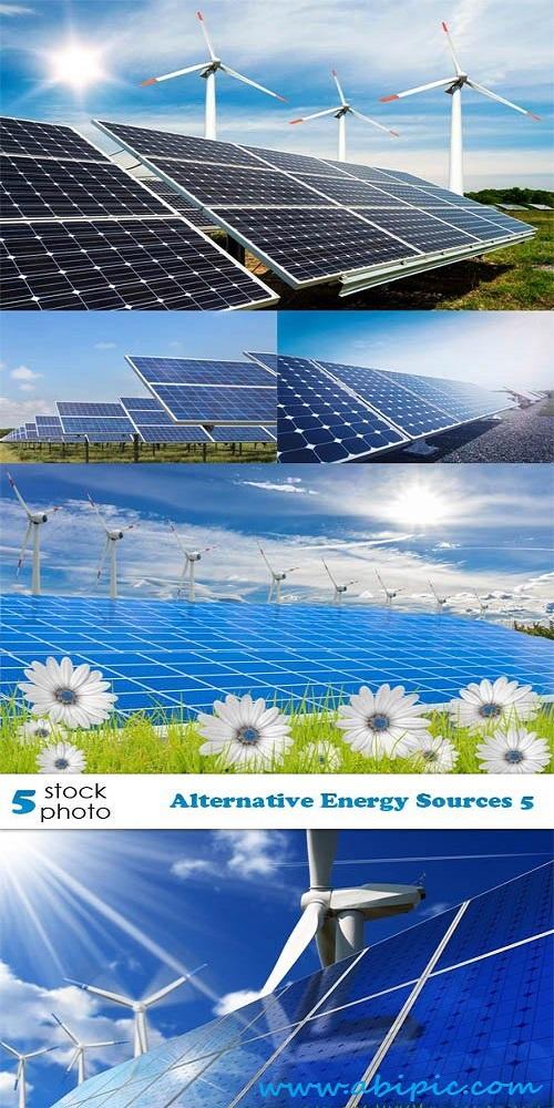 دانلود تصاویر استوک صفحه های خورشیدی Alternative Energy Sources