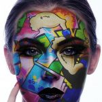 دانلود اکشن فتوشاپ رنگ آمیزی صورت Face Paint Photoshop Action