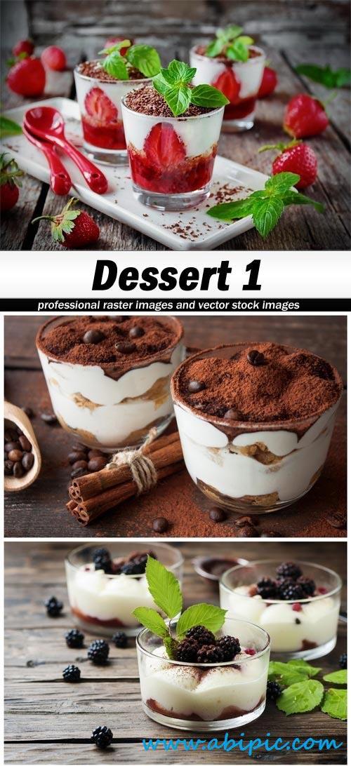 دانلود تصاویر استوک دسرهای غذایی Stock Photo of Dessert